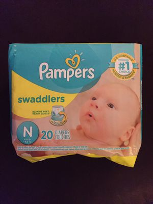 Pampers Swaddlers Newborn for Sale in Virginia Beach, VA