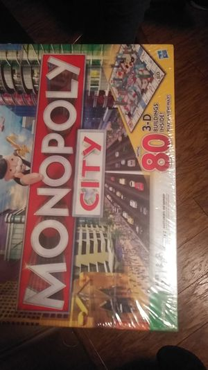 Monopoly city board game for Sale in Columbus, OH