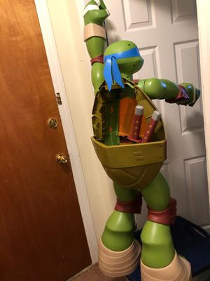 My size Kids ninja turtle/ toy storage in shell for Sale in Philadelphia, PA
