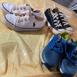 3 pairs of size 11 kid Boy shoes for Sale in Moore,  OK