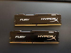 Kingston Hyper Fury 16gb DDR4 Ram for Sale in Fairfax, VA