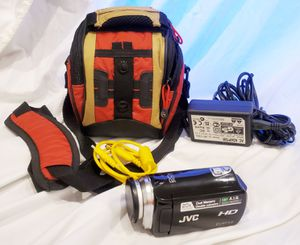 JVC HD Everio GZ-HM320BU Camcorder for Sale in Montclair, CA