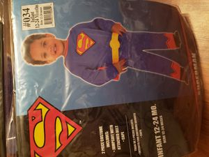Toddler Superman halloween costume for Sale in Philadelphia, PA
