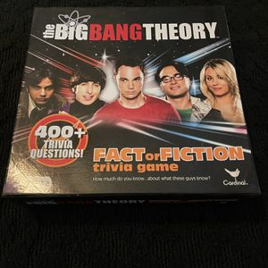 Board Game - The Big Bang Theory, 2 Different Games for Sale in Loma Linda, CA