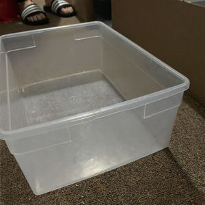 Clear Sneaker Bins With Lids for Sale in Queens, NY