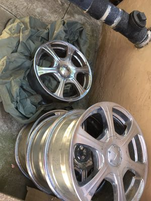 Set of 4 Chrome Rims for Sale in San Jose, CA