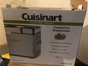 Cuisinart CBK-200 2-Lb Convection Bread Maker for Sale in Columbus, OH