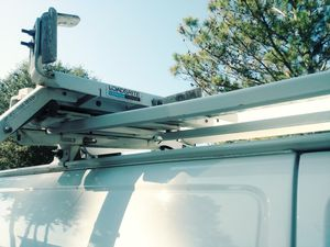 Loads Rite Adrian Steel ladder rack with tube for Sale in Houston, TX