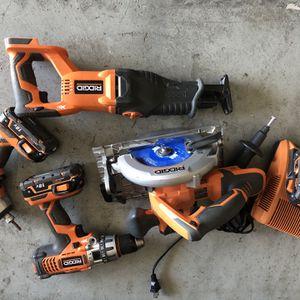 Ridgid 18V Tool Set for Sale in Apopka, FL