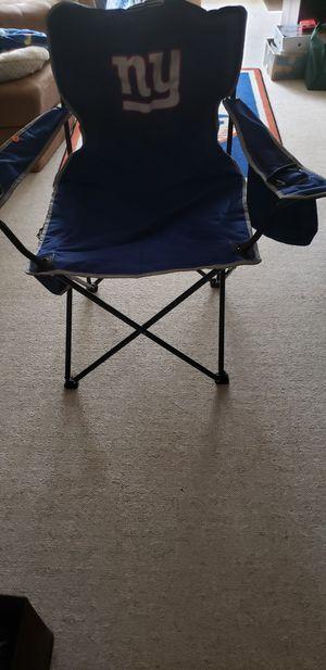 Coleman NY Giants Chair for Sale in Bridgeport, CT