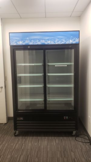 Black sliding door refrigerator for Sale in Mountain View, CA