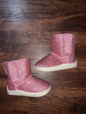 Baby girl glitter boots for Sale in Fullerton, CA
