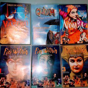 Cirque Du Soleil DVD Bundle for Sale in St. Louis, MO