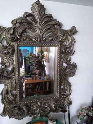 Dramatic Art Deco Wall Mirror for Sale in Fort Lauderdale, FL