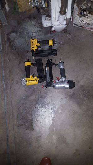 Dewaltt and Porter cable Finish nail guns for Sale in Arcadia, CA