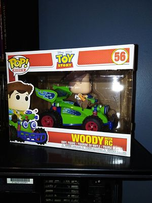 Woody with RC Funko Pop Ride Toy Story Disney vinyl figure display for Sale in Hartford, CT