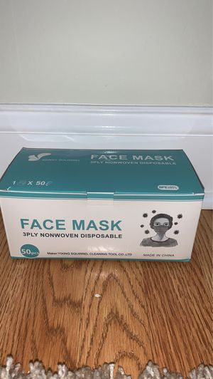 DISPOSABLE FACE MASKS FOR A GOOD DEAL!! for Sale in Philadelphia, PA