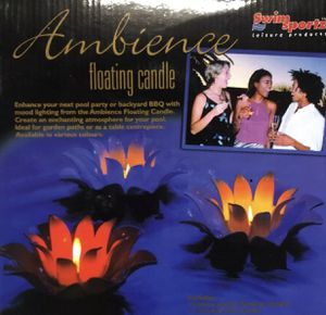 Floating pool candles(9) for Sale in Eureka, MO