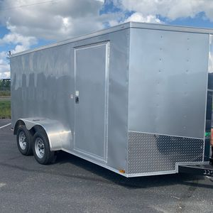 Brand New 2021 Enclosed 7 X 14 trailer for Sale in Shelton, CT