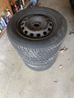 New Tire and steel rim set 185/65R14 for Sale in Lincoln, NE