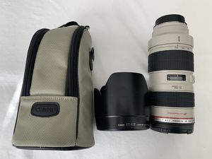 Canon ef 70-200mm f2.8 USM lens for Sale in Rocklin, CA