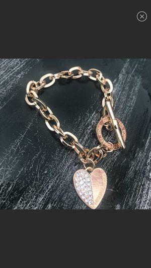Mk charm bracelet 2 for $20 for Sale in Secaucus, NJ