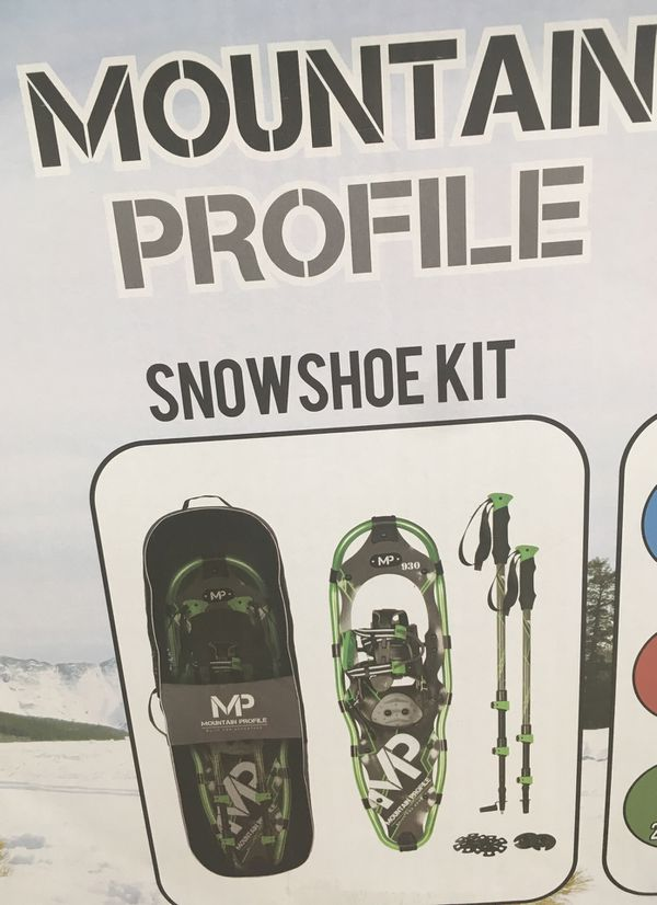 Mountain Profile Snowshoe Kit by Yukon Charlie