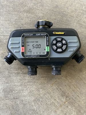 Melnor 4-zone Automatic Sprinkler Timer for Sale in Upper Marlboro, MD
