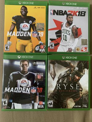 Xbox One Games for Sale in Austin, TX