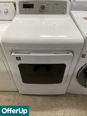 🚀🚀🚀White Electric Dryer Samsung Delivery Available #1012🚀🚀🚀 for Sale in Melbourne, FL