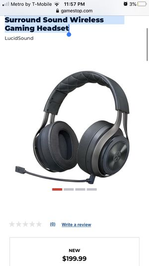Surround Sound Wireless Ps4 headset LS41 for Sale in Compton, CA