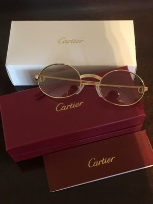 Unisex Gold Frame Cartier Glasses ! Excellent! W box / booklet ! Serious buyers only!!! No trades ! for Sale in Silver Spring, MD