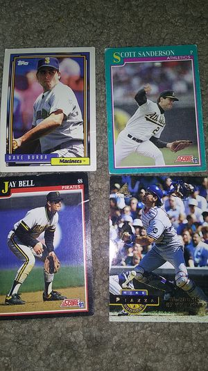 4 baseball cards for Sale in Las Vegas, NV