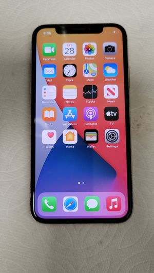 Iphone X 64GB Factory Unlocked Like New for Sale in Gilbert, AZ