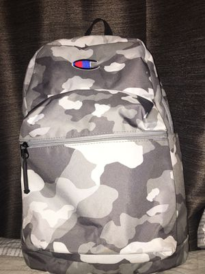 Champion White Camo backpack for Sale in Norwalk, CA