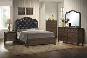 Biannnca Brown Panel Bedroom Set | for Sale in Jessup, MD