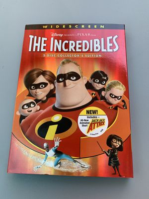 The Incredibles 2 disc Collector's Edition DVD for Sale in Houston, TX