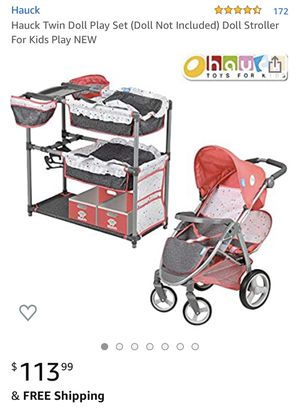 Doll Beds and Stroller Playset for Sale in Wilsonville, OR
