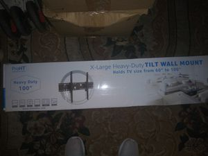 Tv wall mount 60-100 inches for Sale in Anaheim, CA