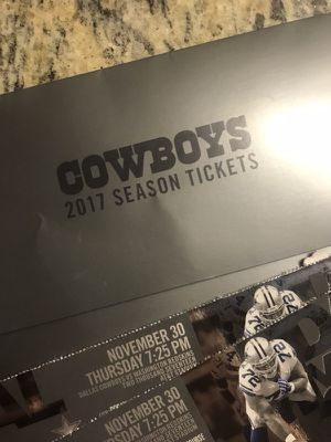 COWBOYS VS SEAHAWKS!! ZEKE'S BACK!!! for Sale in Dallas, TX