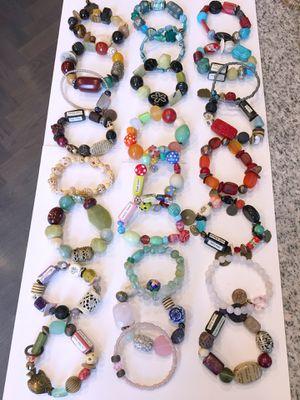 Huge Lot beaded bracelets wholesale price for Sale in Seattle, WA