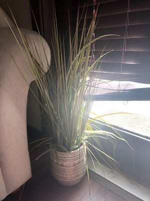 Fake plant and vase for Sale in Austin, TX
