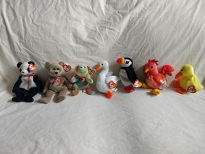 Collectible Beanie Babies : 7 New Beanie Babies for Sale in Seattle, WA