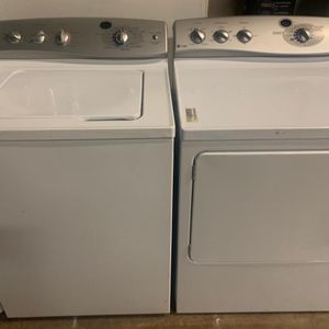 GE Washer And Dryer Set Exellent Condition Available For Pick Up Or Deliver for Sale in Elkridge, MD