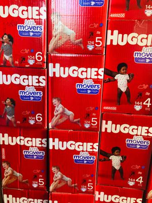 Huggies little movers size 4,5,6 for Sale in Norwalk, CA