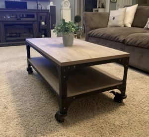 Threshold Coffee Table - Rustic for Sale in Highland, CA