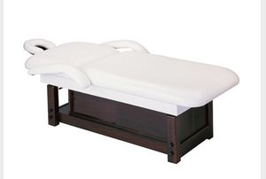 Massage table custom built stationary storage underneath beautiful for Sale in Claremont, CA
