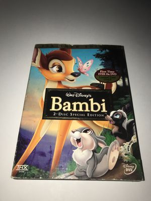 Bambi DVD for Sale in Corona, CA