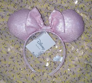Disney Minnie Mouse Ears Light Pink Sequins for Sale in Tampa, FL