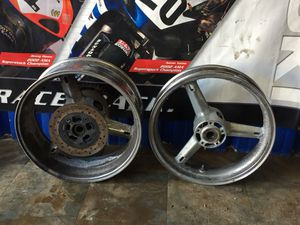 2001 -2004 Suzuki Gsxr Chrome Rims for Sale in Azalea Park, FL